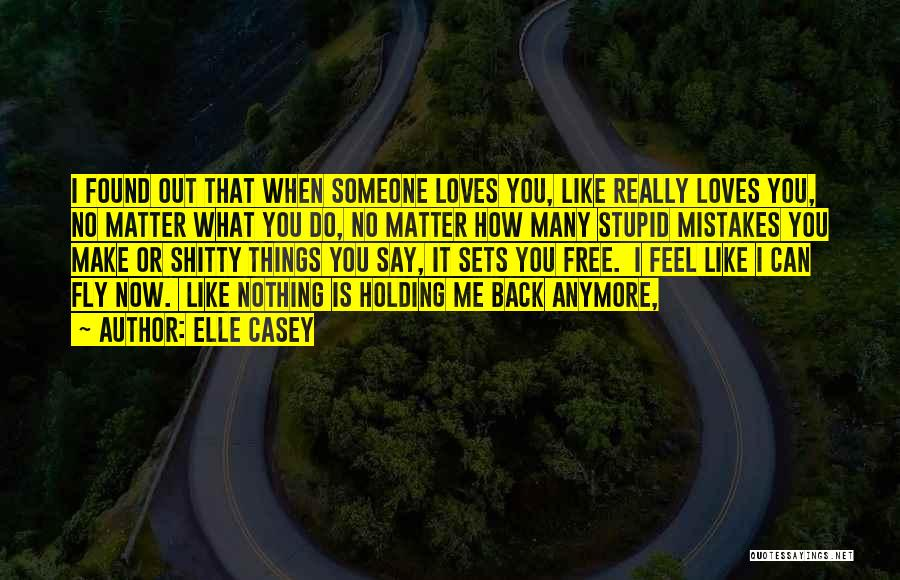 Nothing Matter Anymore Quotes By Elle Casey
