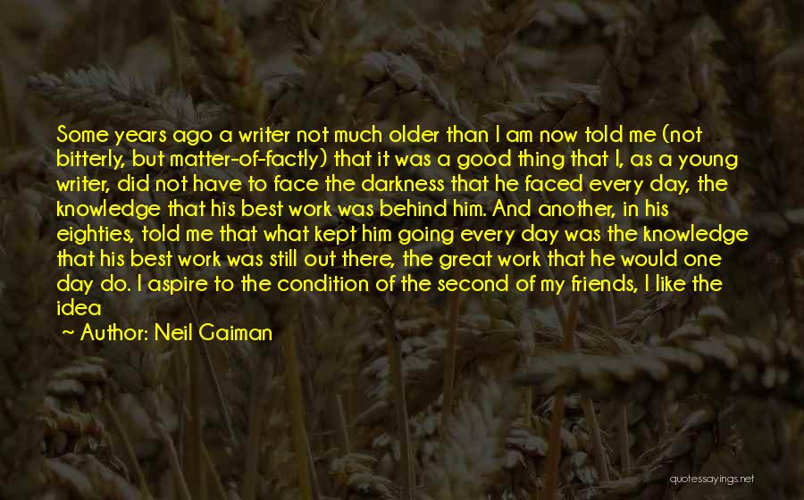 Nothing Matter Anymore Quotes By Neil Gaiman