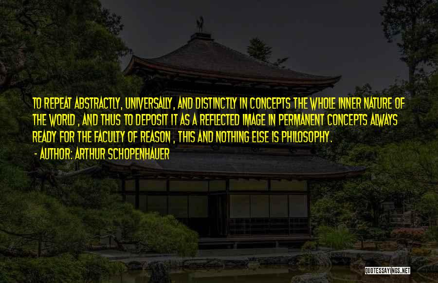 Nothing Permanent In This World Quotes By Arthur Schopenhauer