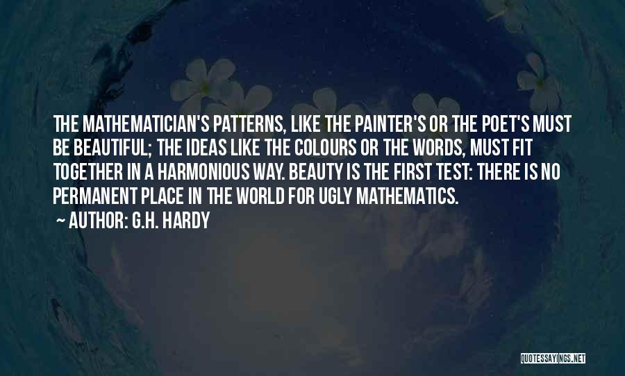 Nothing Permanent In This World Quotes By G.H. Hardy