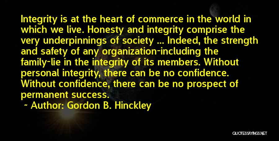 Nothing Permanent In This World Quotes By Gordon B. Hinckley