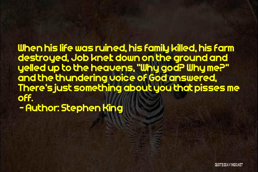 Nothing Pisses Me Off More Than Quotes By Stephen King