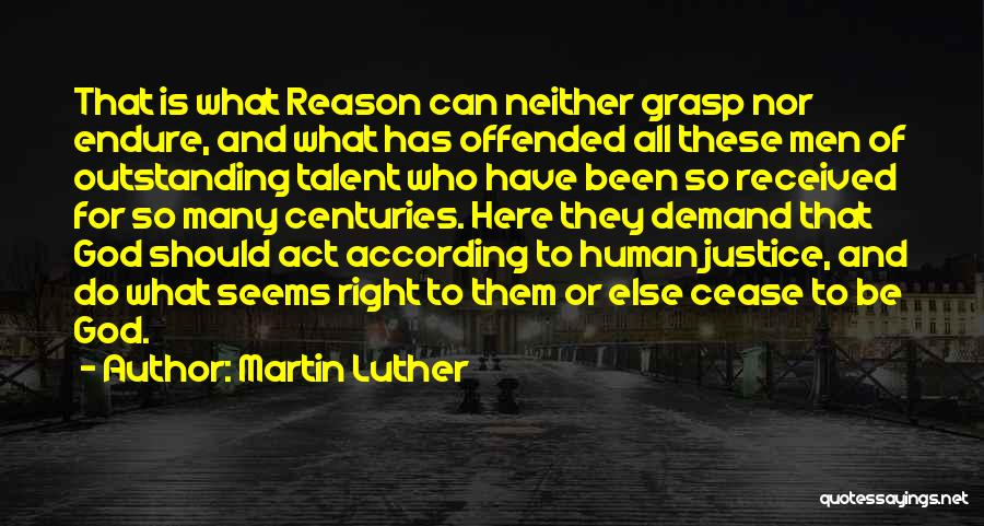 Nothing Seems Going Right Quotes By Martin Luther