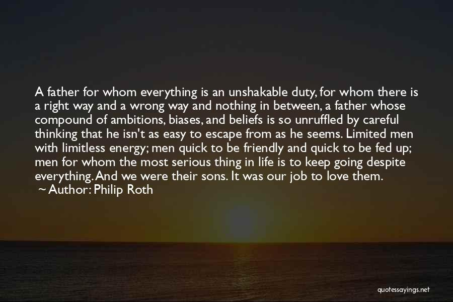 Nothing Seems Going Right Quotes By Philip Roth