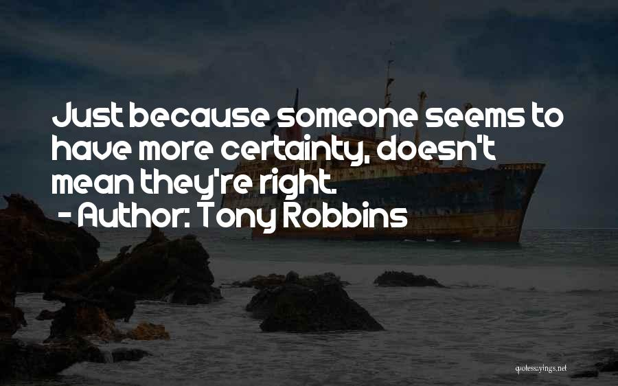 Nothing Seems Going Right Quotes By Tony Robbins