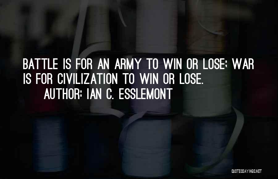 Nothing To Lose Best Quotes By Ian C. Esslemont