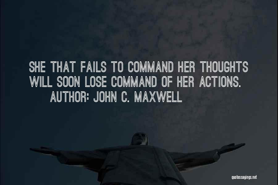 Nothing To Lose Best Quotes By John C. Maxwell