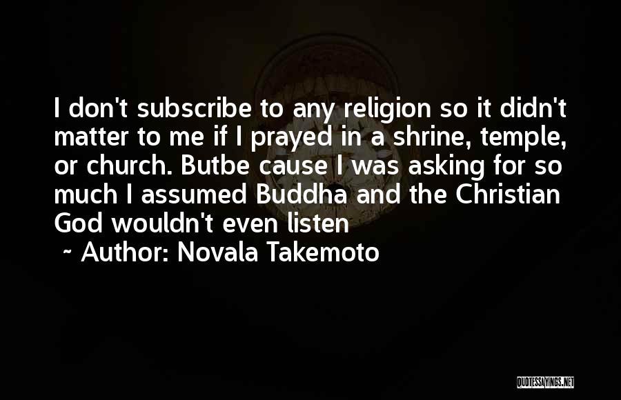 Novala Takemoto Quotes 1036835