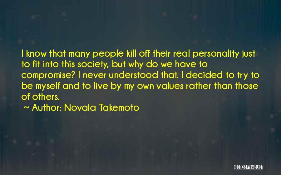 Novala Takemoto Quotes 1152442