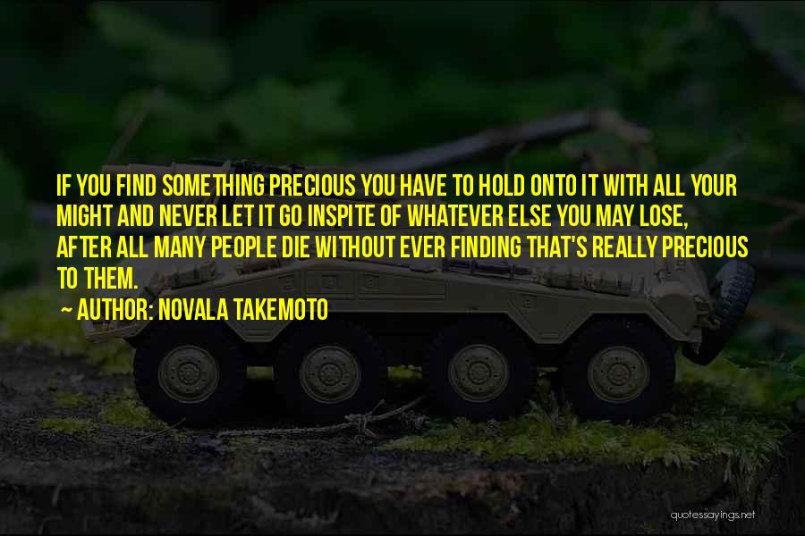 Novala Takemoto Quotes 161302