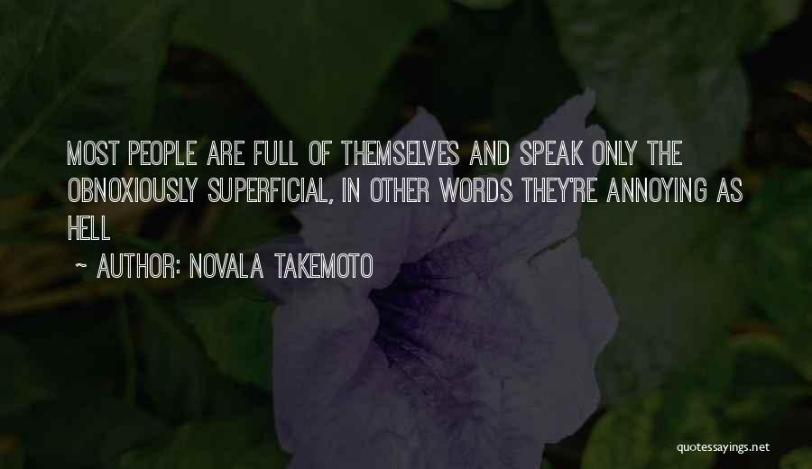 Novala Takemoto Quotes 696023