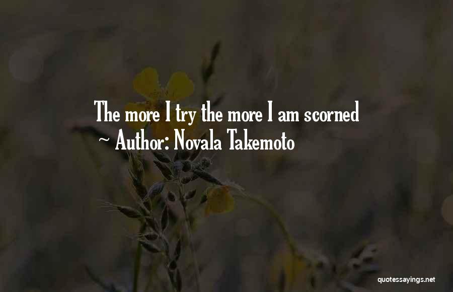 Novala Takemoto Quotes 835887