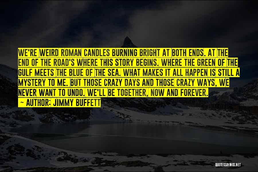 Now And Forever Quotes By Jimmy Buffett