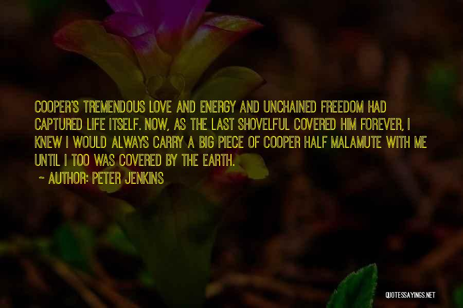 Now And Forever Quotes By Peter Jenkins