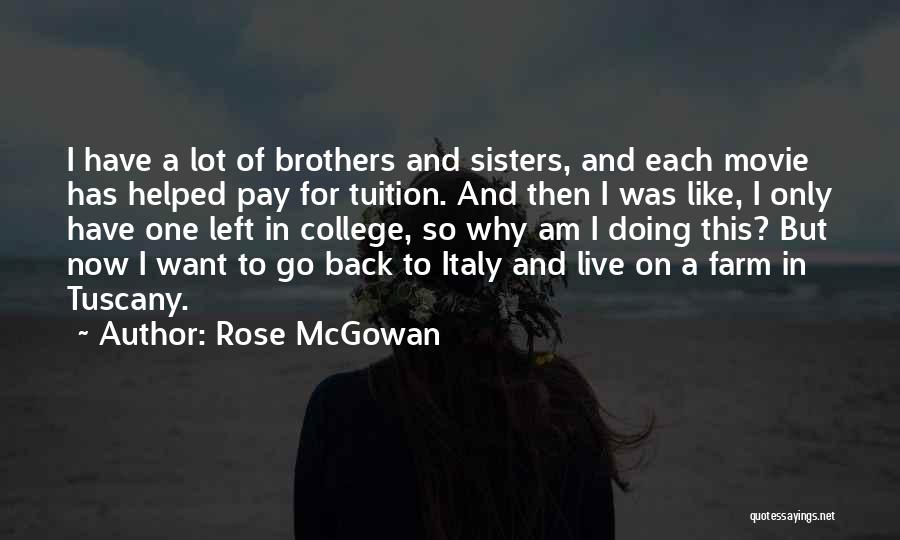 Now And Then Movie Quotes By Rose McGowan