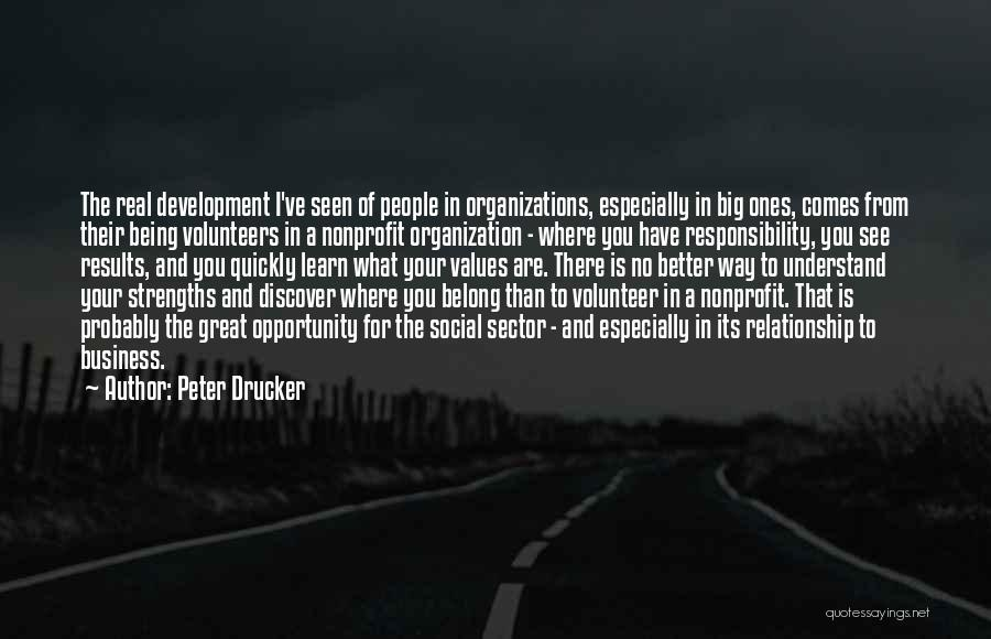 Now Discover Your Strengths Quotes By Peter Drucker