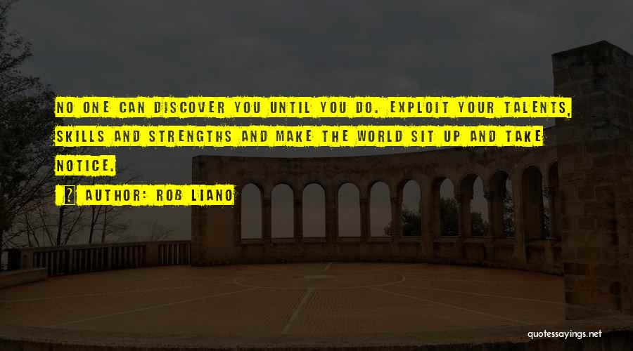 Now Discover Your Strengths Quotes By Rob Liano