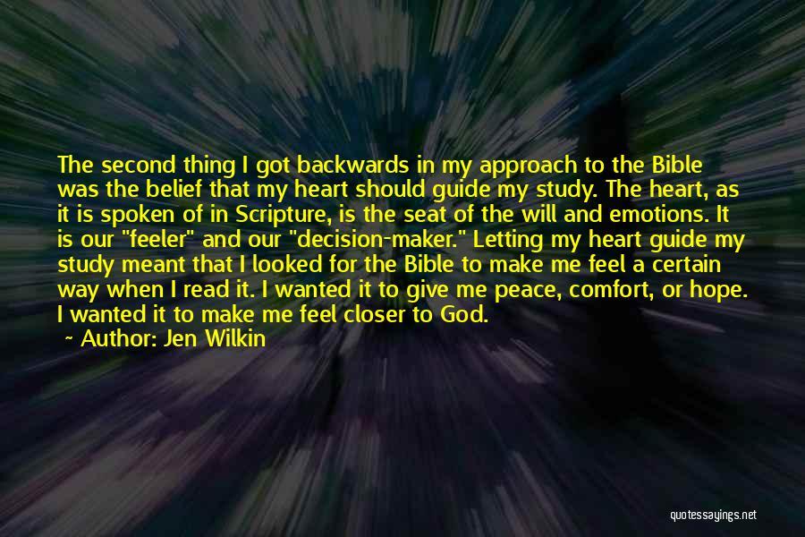 Now Read It Backwards Quotes By Jen Wilkin