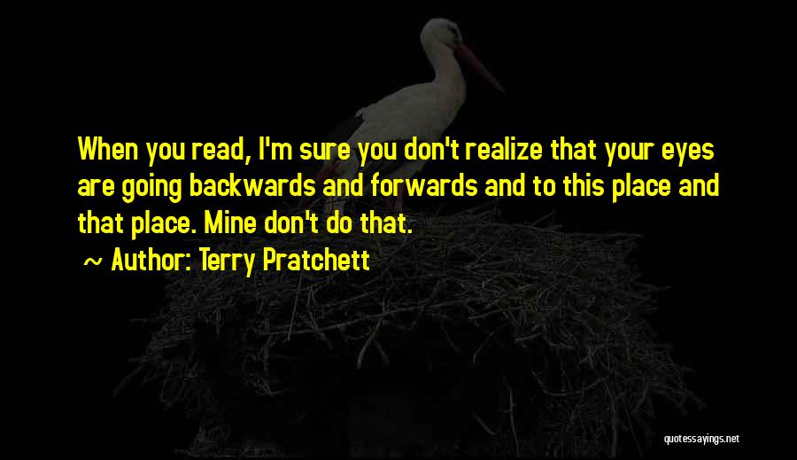 Now Read It Backwards Quotes By Terry Pratchett