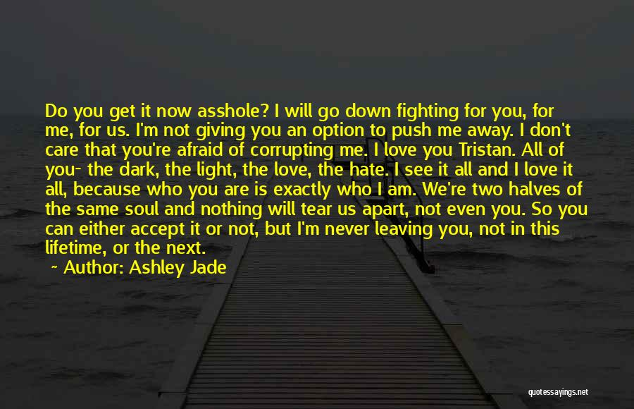 Now You Don't Love Me Quotes By Ashley Jade