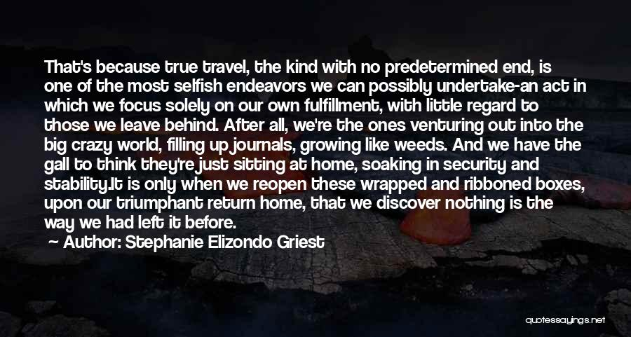 Nowhere Like Home Quotes By Stephanie Elizondo Griest