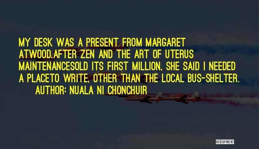 Nuala Ni Chonchuir Quotes 251782