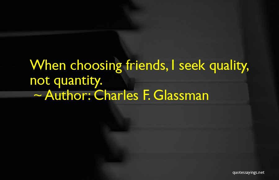 Nuala Ni Dhomhnaill Quotes By Charles F. Glassman