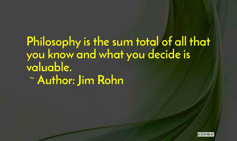 Nuala Ni Dhomhnaill Quotes By Jim Rohn