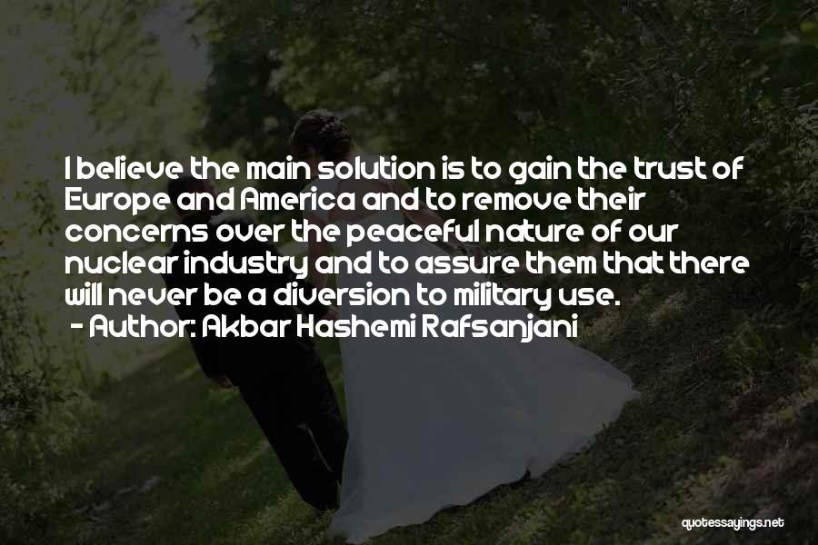 Nuclear Quotes By Akbar Hashemi Rafsanjani