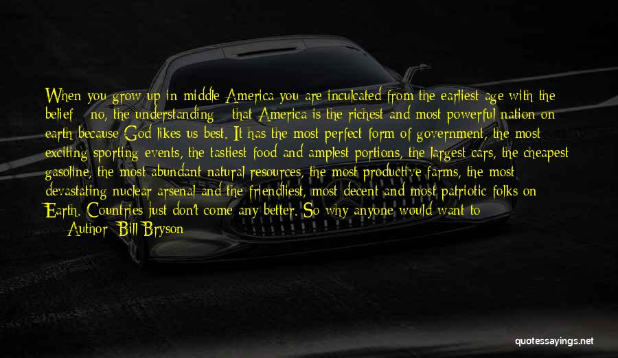 Nuclear Quotes By Bill Bryson
