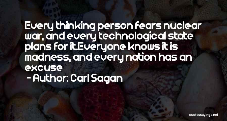 Nuclear Quotes By Carl Sagan