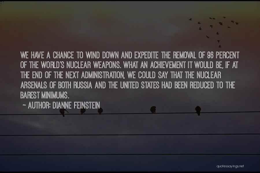 Nuclear Quotes By Dianne Feinstein