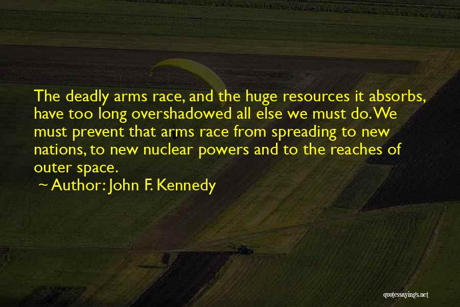 Nuclear Quotes By John F. Kennedy