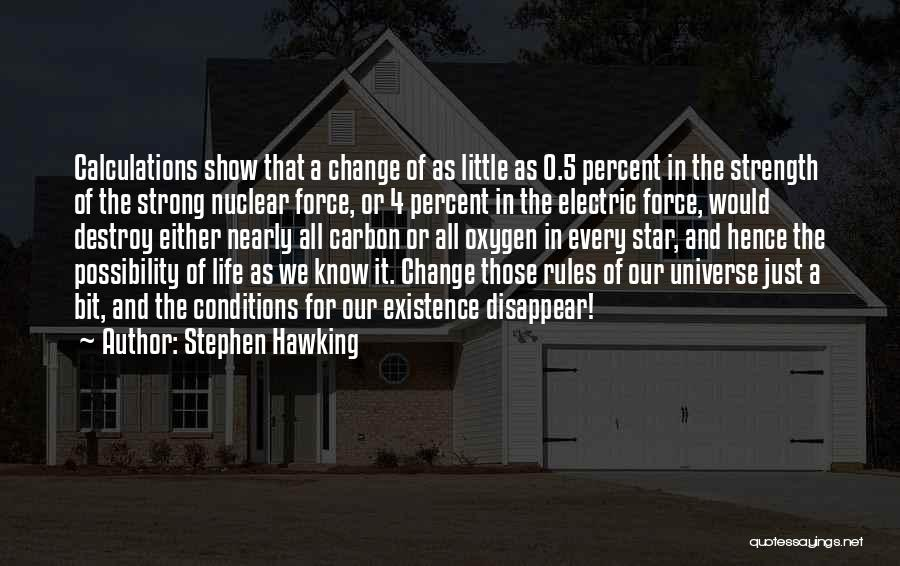 Nuclear Quotes By Stephen Hawking