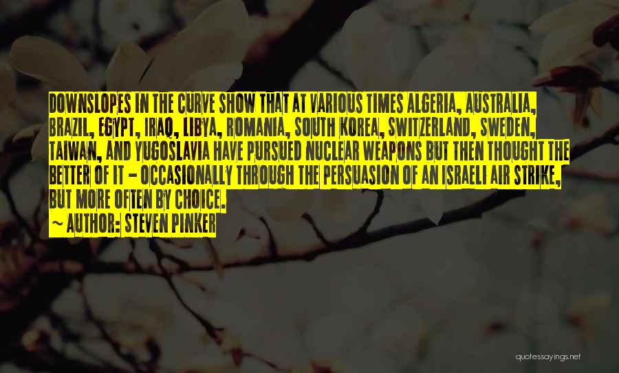 Nuclear Quotes By Steven Pinker