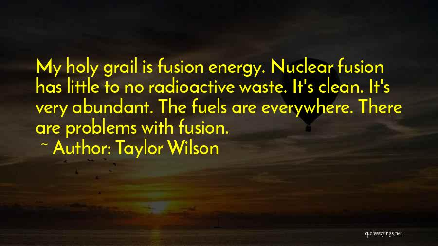 Nuclear Quotes By Taylor Wilson