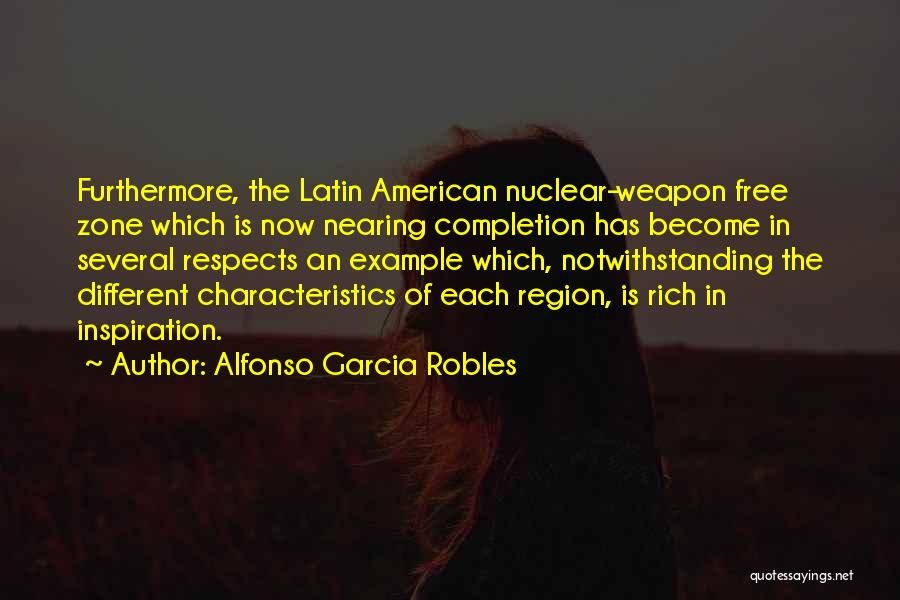 Nuclear Weapon Quotes By Alfonso Garcia Robles