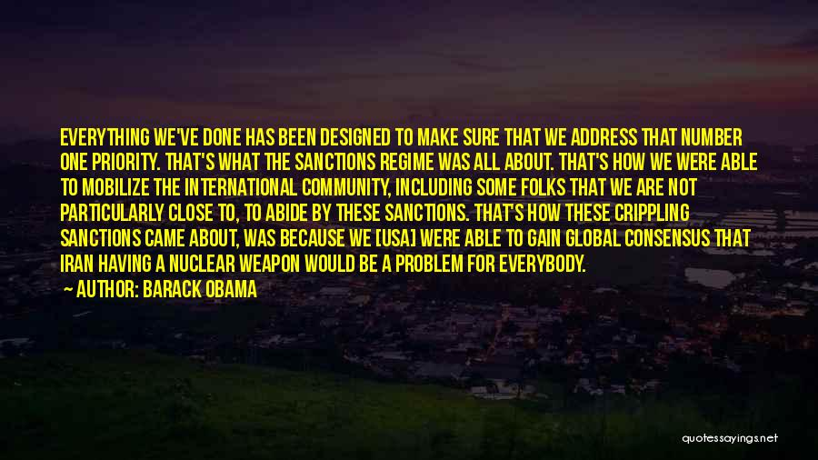 Nuclear Weapon Quotes By Barack Obama
