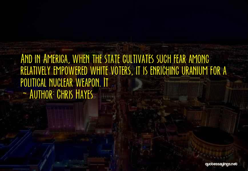 Nuclear Weapon Quotes By Chris Hayes