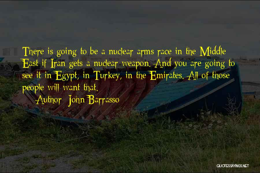 Nuclear Weapon Quotes By John Barrasso