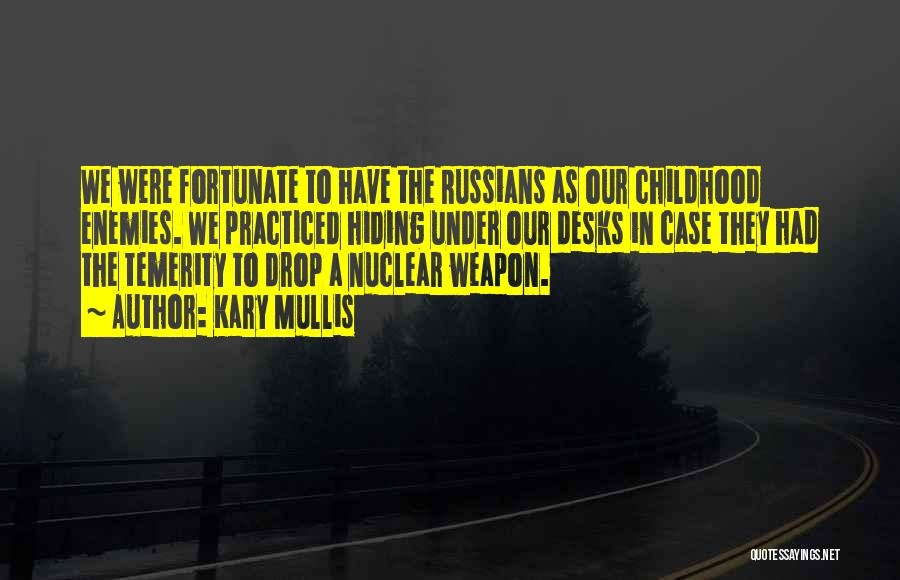 Nuclear Weapon Quotes By Kary Mullis
