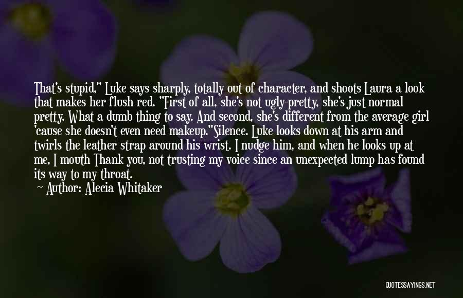 Nudge Quotes By Alecia Whitaker