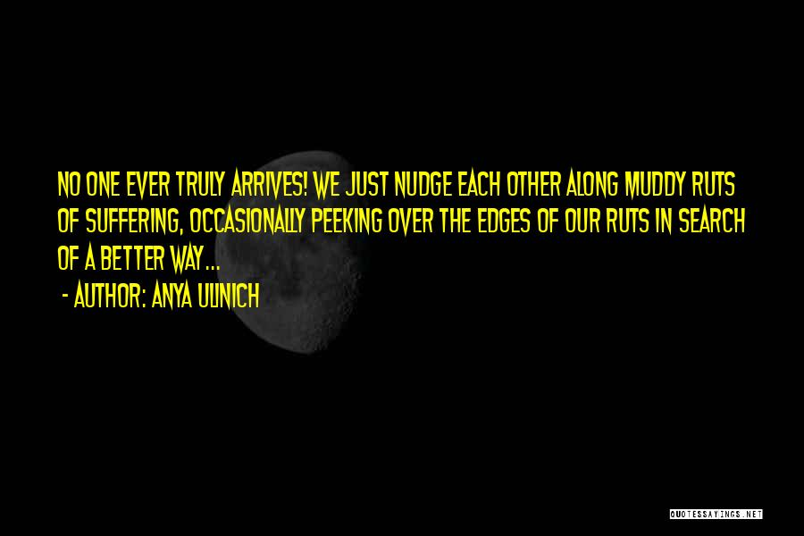 Nudge Quotes By Anya Ulinich