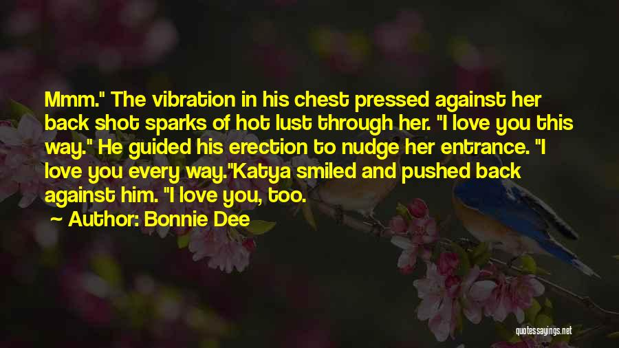 Nudge Quotes By Bonnie Dee