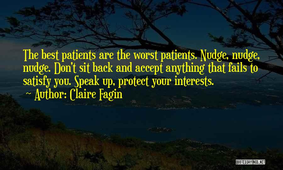 Nudge Quotes By Claire Fagin