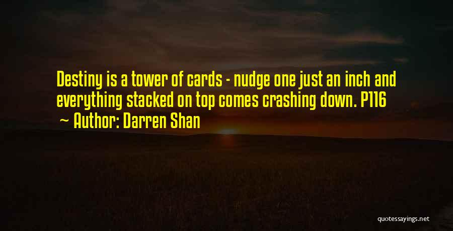 Nudge Quotes By Darren Shan