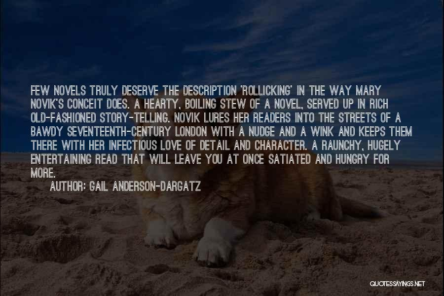 Nudge Quotes By Gail Anderson-Dargatz