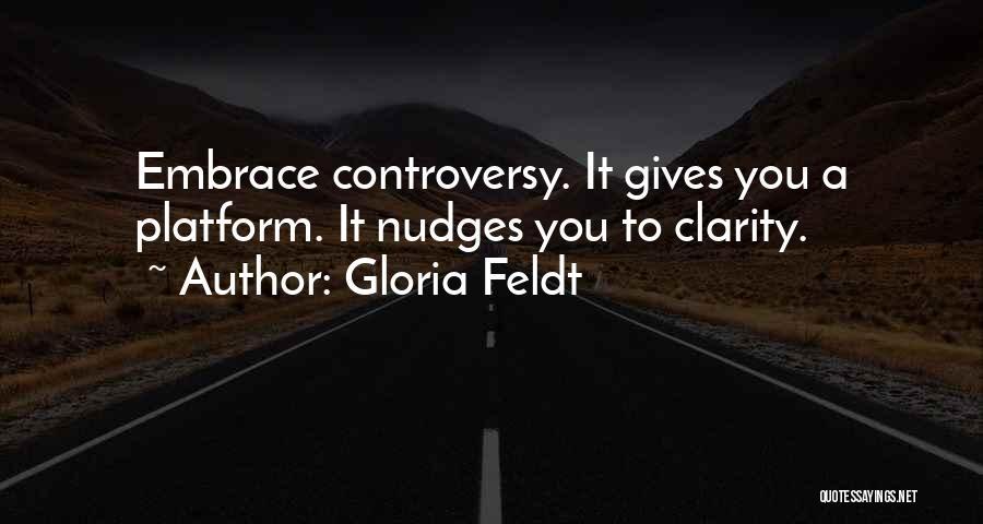 Nudge Quotes By Gloria Feldt