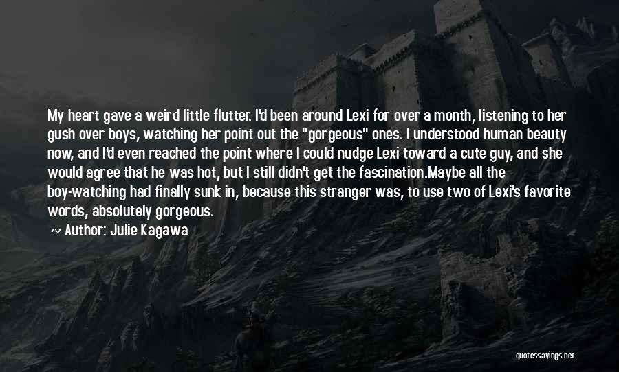 Nudge Quotes By Julie Kagawa
