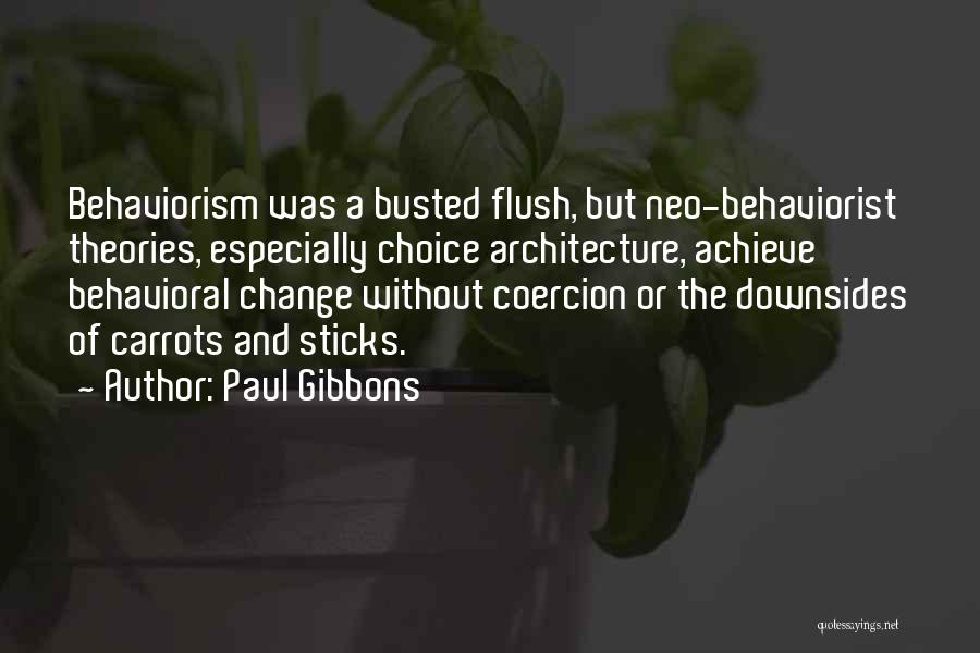 Nudge Quotes By Paul Gibbons